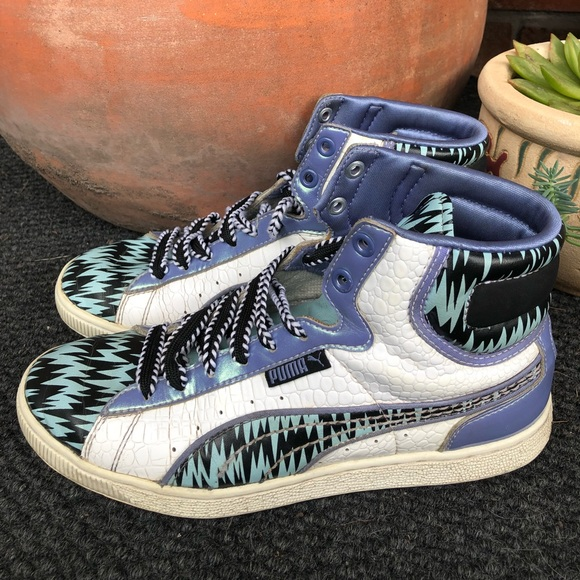 Puma Shoes | First Round High Tops Zig